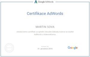 Certifikace Adwords Videoreklama